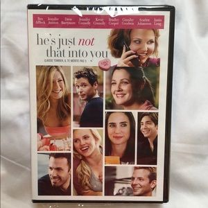 Other - NWOT UNOPENED He's Just Not That Into You DVD